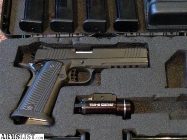 For sale rock island armory 45 m1911 a2fs tact 2011 double stack w