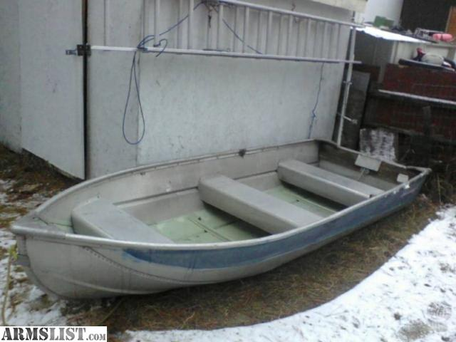 Armslist for sale trade 12 ft aluminum fishing boat for 12 foot fishing boat