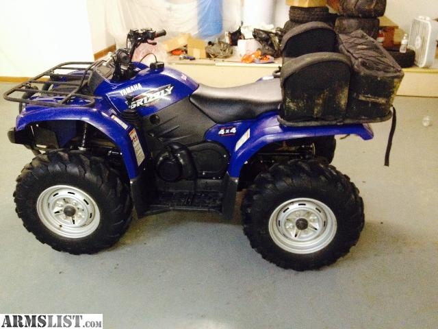 Armslist for sale 2008 yamaha grizzly 450 4x4 warn winch for 2014 yamaha grizzly 450 value