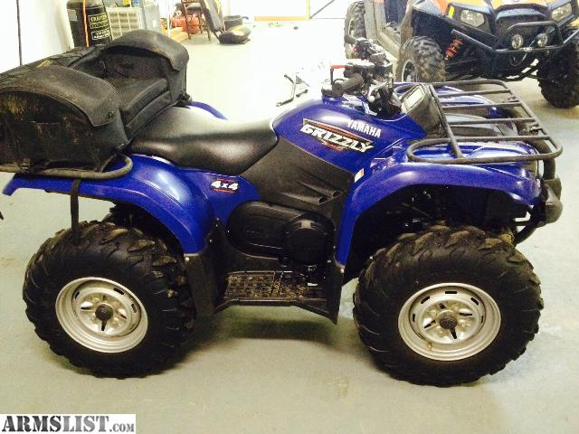 Armslist for sale 2008 yamaha grizzly 450 4x4 warn winch for Yamaha grizzly 450 for sale