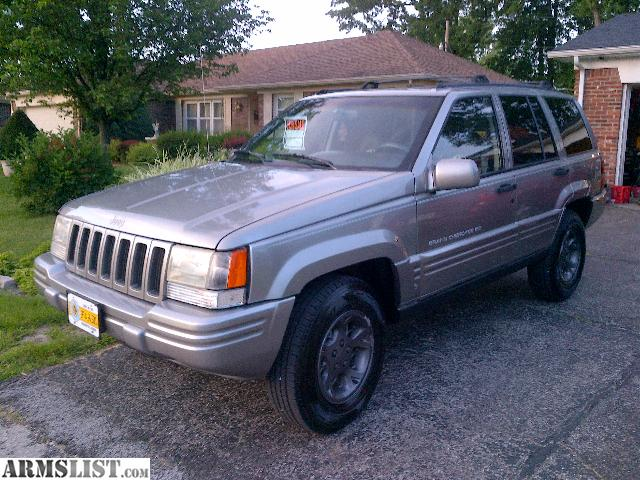 armslist for sale trade 97 jeep grand cherokee limited. Cars Review. Best American Auto & Cars Review