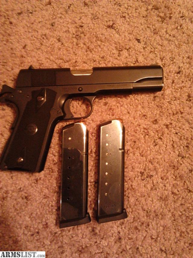 1911 Tisas in 45acp Made it