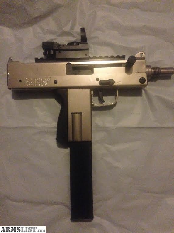 ARMSLIST - For Sale: MAC 10 9mm Uzi Nickle Plated w/ 32 ...