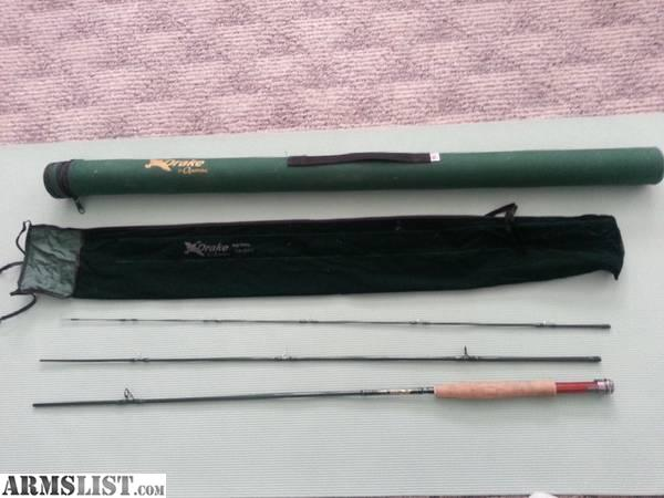 Armslist for sale trade bamboo fly rod for sale or trade for Fly fishing rods for sale