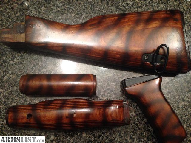 Armslist for sale ak 47 ak 74 combloc customs tiger wood furniture Ak 47 wooden furniture