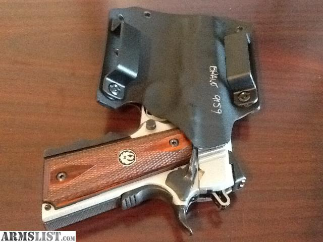 1911 Commander Holster Kydex Holster For 1911