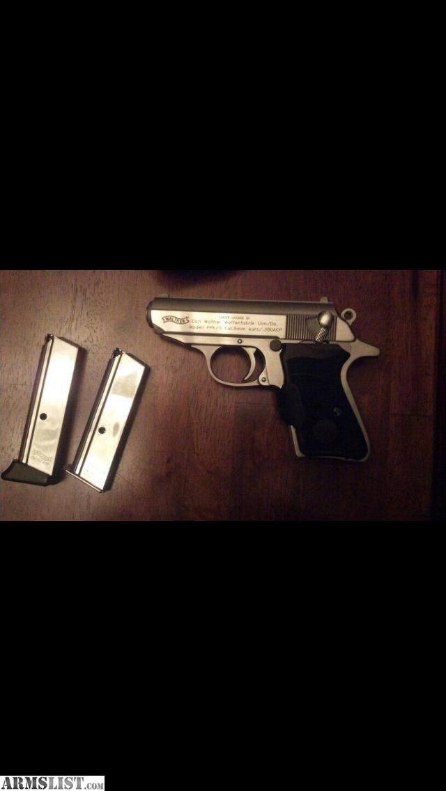 Walther Ppk 380 Laser Grips Stainless Walther Ppk 380 With