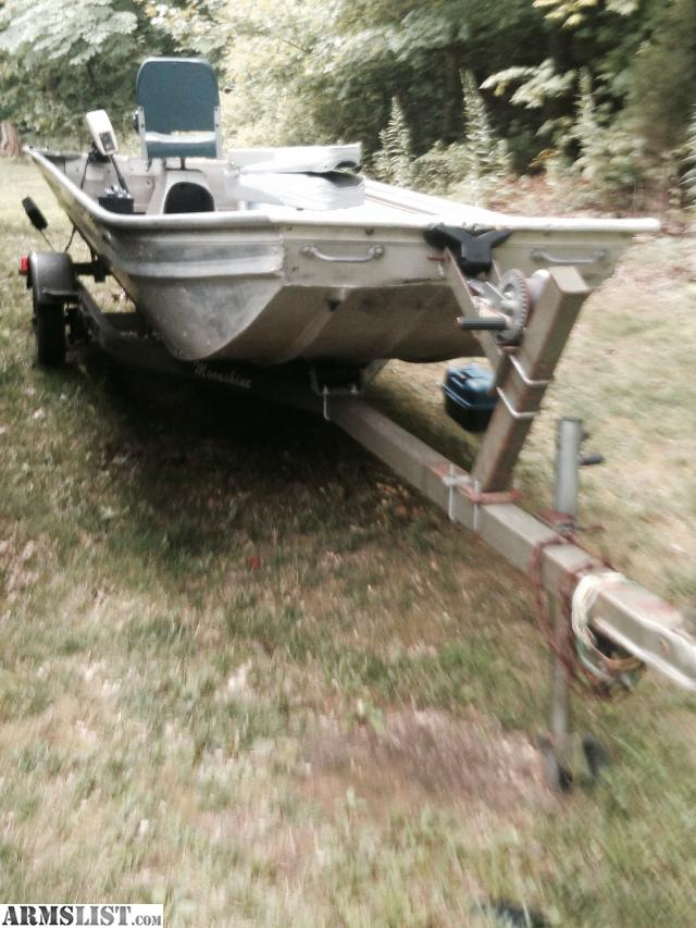 Armslist For Sale Trade 15 Ft Fishing Jon Boat With Motor