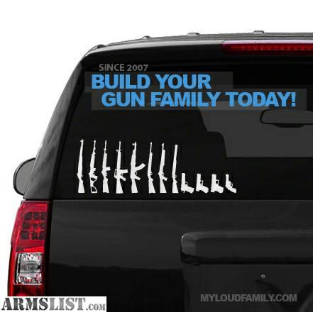 Armslist For Sale Gun Family Decal Stickers
