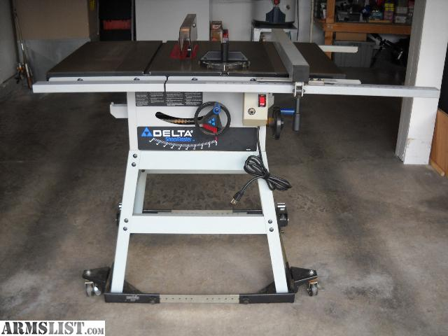 Armslist for sale delta shopmaster 10 table saw for 10 inch delta table saw
