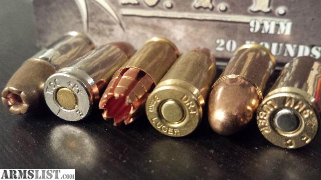 Quot black talons quot and american eagle 115gr fmj 9mm combo package