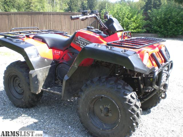 Armslist for sale 2000 yamaha grizzly 600 4x4 for Yamaha grizzly 600