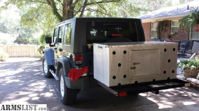 Receiver Hitch Dog Box For Sale