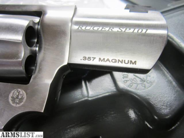 For sale new ruger sp101 wc wiley clapp talo 357 magnum revolver ksp