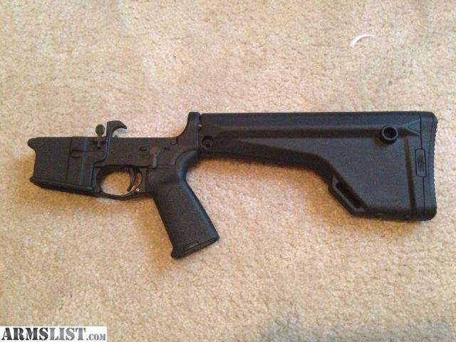 Armslist For Sale Complete Lower With Magpul Furniture