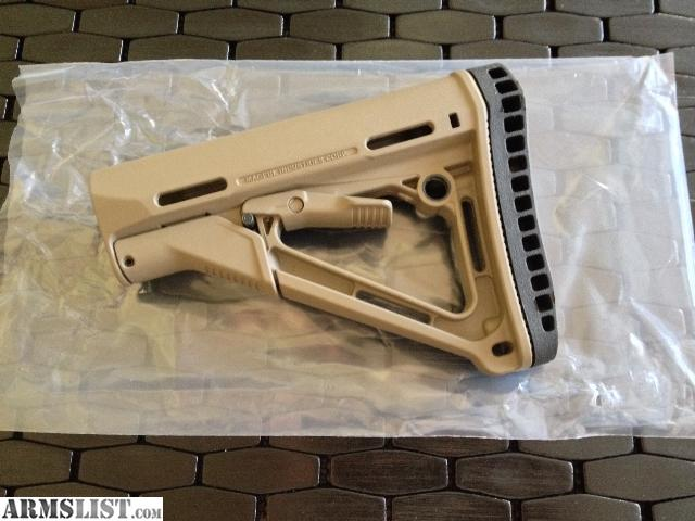 Magpul Fde Stock Ctr Stock With Magpul