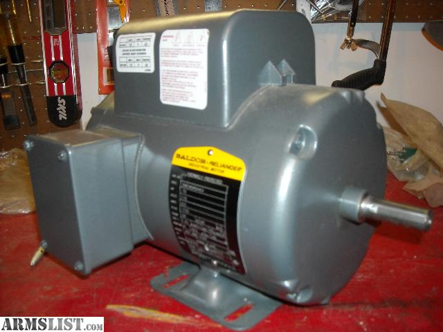 Armslist for sale trade baldor 3 4 hp single phase motor for Single phase motors for sale