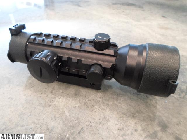 For Sale: Walther 2x42 Tactical style green or red dot scope