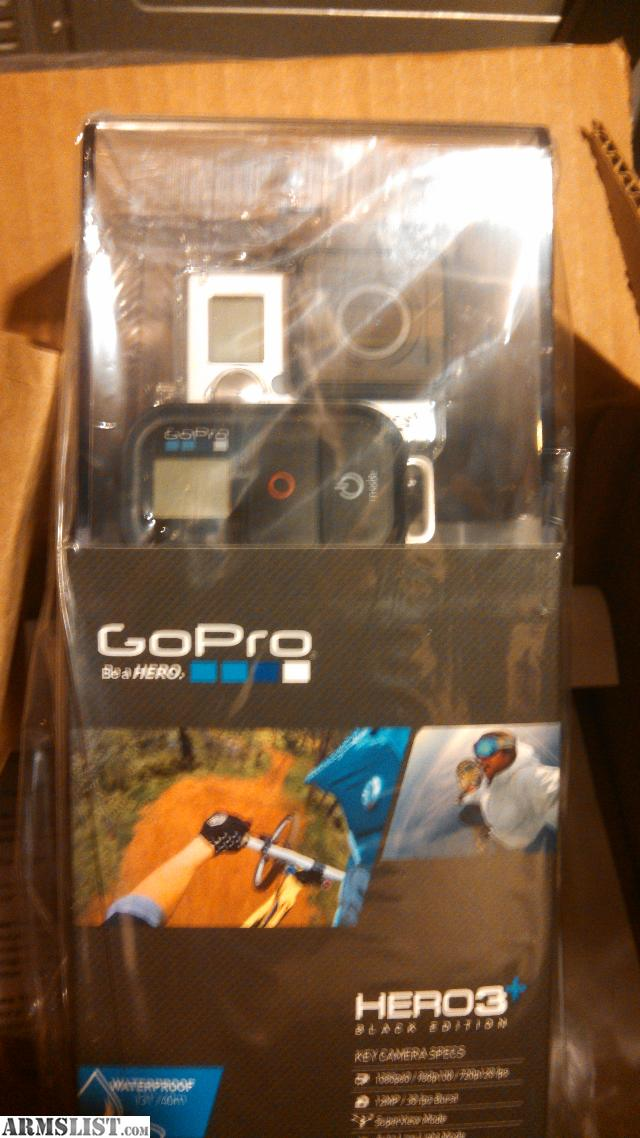 armslist for sale trade gopro hero 3 black edition with accessories. Black Bedroom Furniture Sets. Home Design Ideas