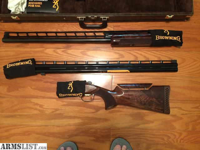 Armslist For Sale Browning 725 Trap Combo