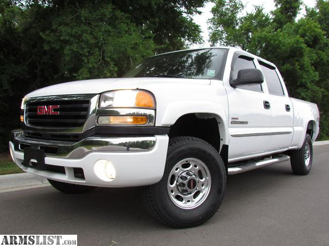 armslist for sale 2004 gmc sierra 2500 sle 4x4. Black Bedroom Furniture Sets. Home Design Ideas