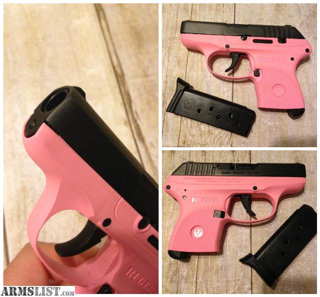 For Sale: Pink Ruger LCP .380