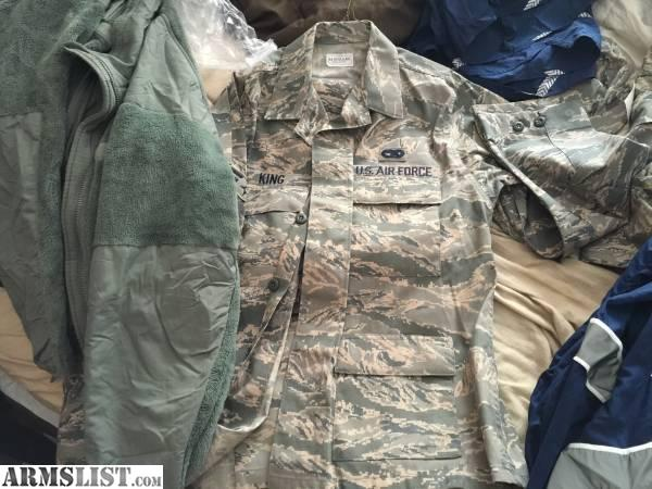 For Sale: New Air Force Military Uniforms