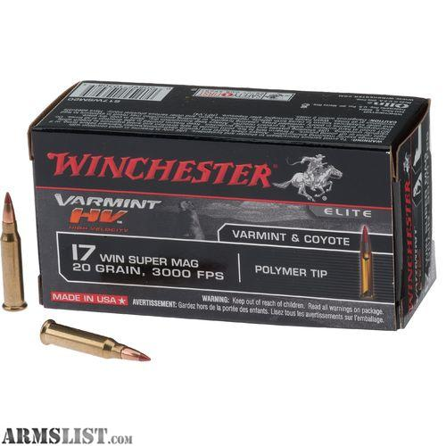 17WSM Ammo in Stock