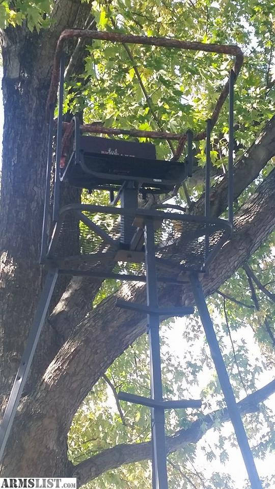 Trade Stands For Sale : Armslist for trade large tripod deer stand