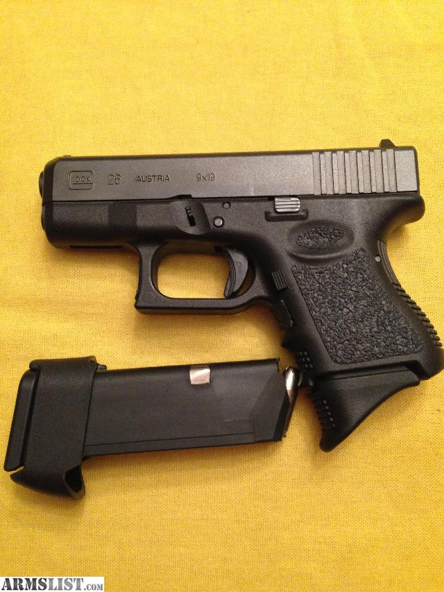 ARMSLIST - For Sale: Glock 26