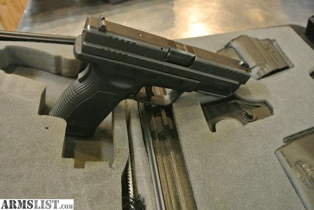 For sale springfield xd9 9mm