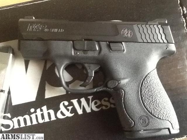For Sale/Trade: Smith & Wesson MP Shield 40 like new.