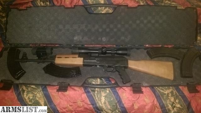 For Sale: Zastava serbian AK 47 NEW never fired!