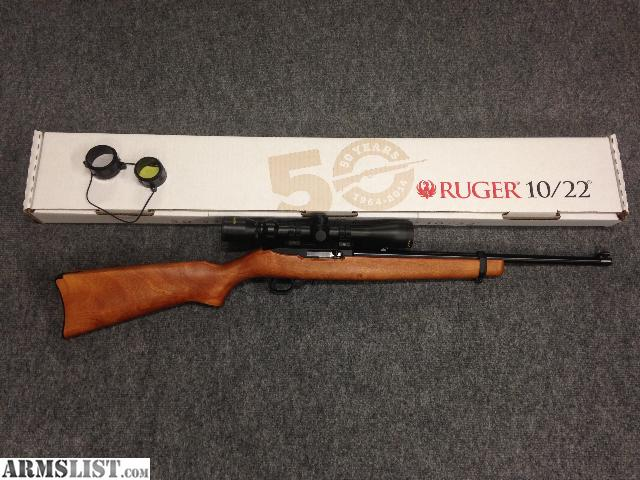 Armslist for sale ruger 10 22 50th anniversary addition