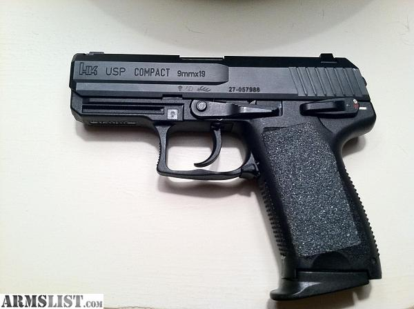 ARMSLIST - Want To Buy: HK USP 9MM COMPACT