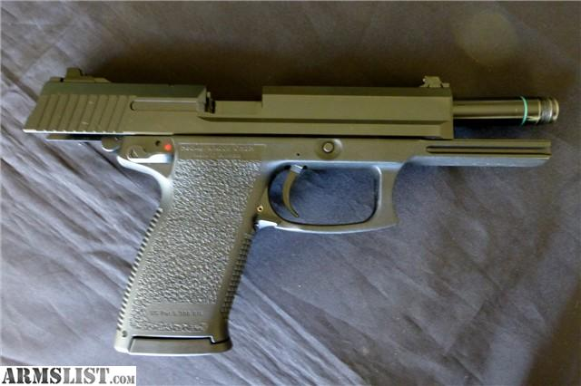 Armslist h k heckler koch hk mark with faux suppressor