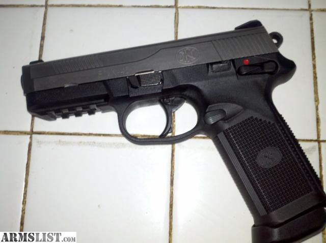 Armslist for sale trade fn fnx 45 stainless 2 tone with custom