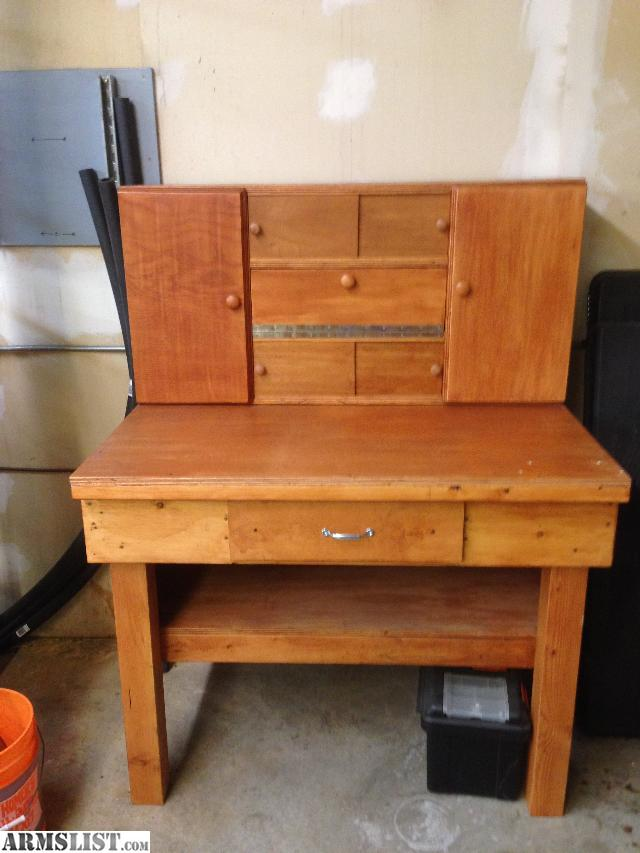 Armslist For Sale Reloading Bench