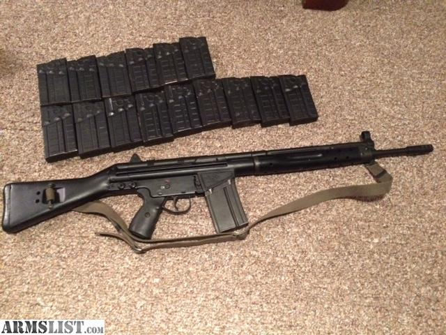 Cetme G3 For Sale: For Sale: CETME G3 .308 Rifle
