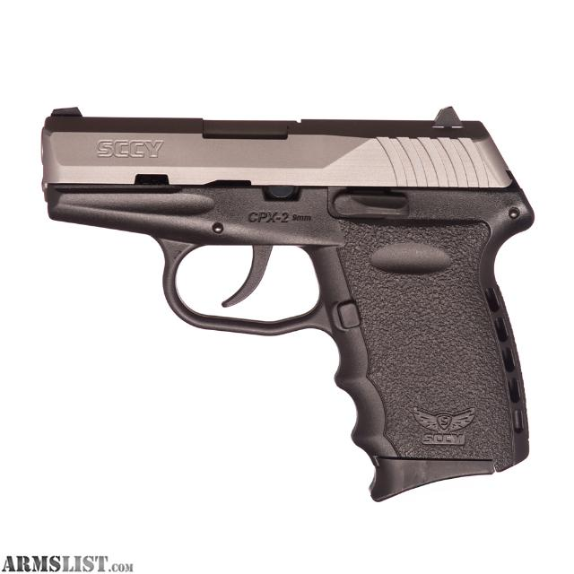 ARMSLIST - For Sale: SCCY 9MM PISTOLS