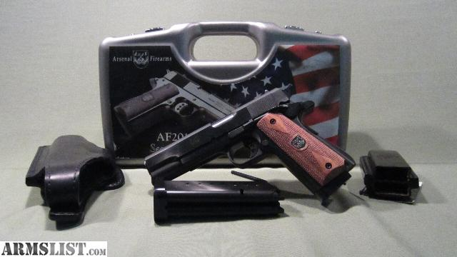 201145 acp double barrel for sale arsenal firearms af 2011 45acp