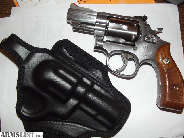 Smith and wesson model 66 snub