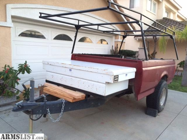 ARMSLIST For Sale Pickup Bed UTILITY TRAILER
