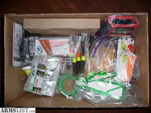 Armslist for sale brand new steelhead and salmon gear for Craigslist fishing equipment