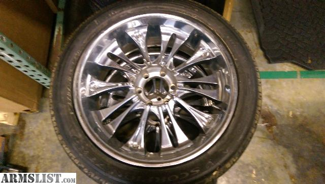 For sale 22 inch spinner rims
