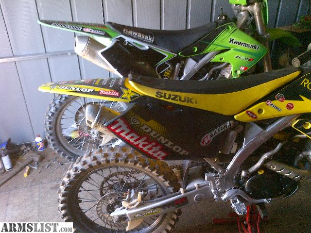 Armslist For Sale Trade 06 Rmz250f Rebuilt Motor Asking