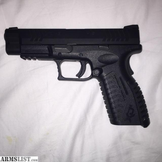 For sale reduced springfield xdm 4 5 quot 9mm with accessories
