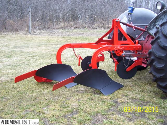 Ford dearborn 2 bottom plow