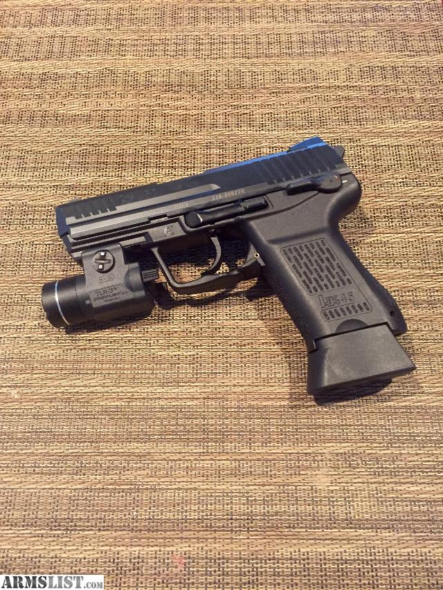 Armslist For Sale Hk45 Compact With Streamlight Tlr 3