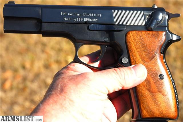 Hungarian 9mm Pistol – HD Wallpapers
